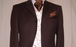 Brown Suit Hire