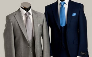 Grey Morning Suit Hire